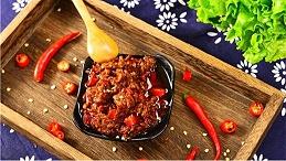 用南阳黄牛肉制作的易佰福牛肉酱,真香!