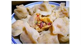 白菜饺子好吃有秘诀,鲜美多汁不油腻!