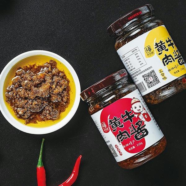 易佰福黄牛肉酱