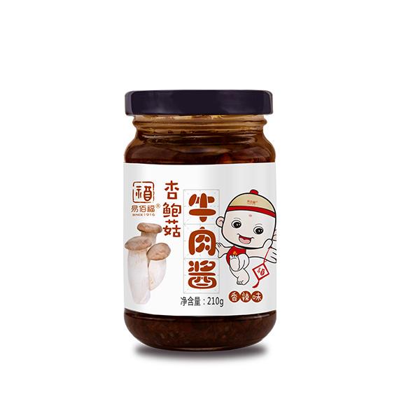 五香味杏鲍菇牛肉酱