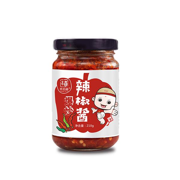 爆炒辣椒酱