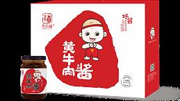 河南高品质黄牛肉酱招商代理,易佰福食品为您保驾护航!